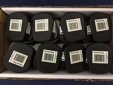 10 x Standard UK Fused 13A 13 Amp Black  Mains 3 Pin Household Plugs