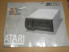 Original Vintage Atari 1050 Disk Drive Owner's Manual Book Booklet