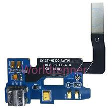Puerto Carga Micrófonos Flex USB Charging Microphone Samsung Galaxy Note 2 N7100