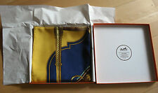 Hermès Paris seidentuch careé SCARF Carrick a pompe Rarità + BOX!!!
