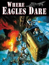 Where Eagles Dare - Alistair MacLean Audio Book MP 3 CD Unabridged 7 Hrs 40 Min
