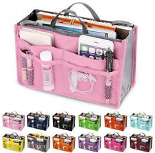 Travel Bag Women Handbag Organizer Large Liner Insert Makeup Purse Accessory Bag