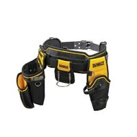 DeWalt HEAVY DUTY TOOL APRON POUCH Integrated Metal Clip Tape Holder *USA Brand