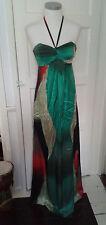 Ted Baker Silk Maxi Dress Size '1'