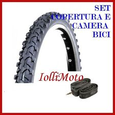 SET GOMMA E CAMERA BICICLETTA 14x1.75 (47-254) DEESTONE BICI MTB