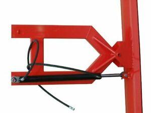 Schneeschild hydraulisch 100x40cm für Gabelstapler und Radlader m. Gabelaufnahme