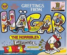 """Greetings From Hagar The Horrible's Weekender Budget Books 1987 """"In Colour"""""""