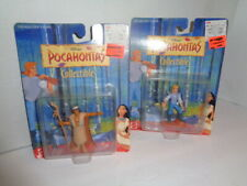 Disney's Pocahontas Collectible Figures,Lot Of Two, Mattel, New Sealed