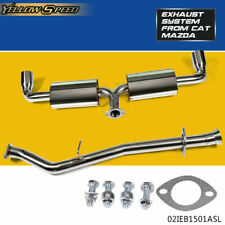 "BOLT-ON STAINLESS STEEL 3.5"" TIP CAT CATBACK EXHAUST SYSTEM 04-11 MAZDA RX-8"