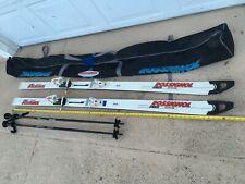 """New listing 74"""" Rossignol Quantum Skies Tyrolia Bindings Kerma Vector Ski Poles & Ski Bag"""
