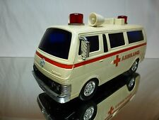 ALPS TOY - NISSAN CARAVAN AMBULANCE - CREME L27.0cm - GOOD CONDITION