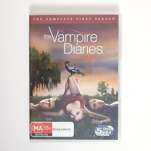 The Vampire Diaries Season 1 DVD Region 4 AUS TV Series - Drama