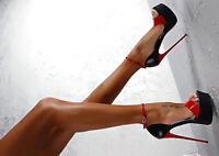 Patchwork Drag Queen Sandals Crossdresser Peep-Toe Heels Stiletto Women Shoes
