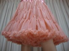 NEW SOFT 1 Layer Vintage 50's Rockabilly Circle Frilled Dress PETTICOAT One Size