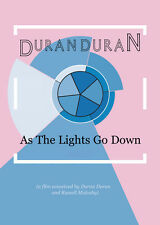 Duran Duran AS THE LIGHTS GO DOWN Genuine Remastered DVD 101-min +promo postcard