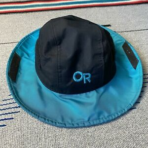 Outdoor Research Seattle Sombrero GORETEX Hat OR Rain Waterproof Vtg USA Small