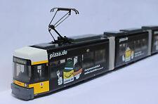 Rietze: Straßenbahn Adtranz GT6N BVG Berlin - Pizza.de