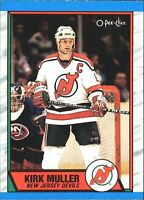 "Kirk Muller~1989-90 'O-Pee-Chee ""Tembec Test"" Card#117(New Jersey Devils-Center)"