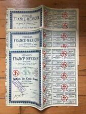 20 x Pétroles FRANCE-MEXIQUE for 1€ ?