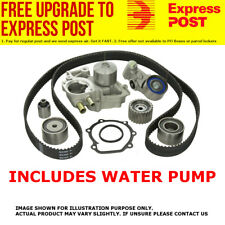 TIMING BELT KIT+WATER PUMP MITSUBISHI TRITON MK 6G72 3.0L V6 SOHC 10/1996-6/2006