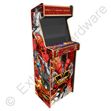 "BitCade Minotaur 24"" 2 Player Upright Arcade Cabinet with Street Fighter Artwork"