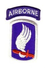 """173rd AIRBORNE Bde """"Patch & Tab"""" (Fabrication Actuelle)"""