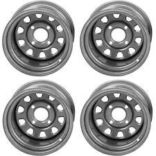 4 ATV/UTV Wheels Set 12in ITP Delta Steel Silver 4/110 5+2/2+5 SRA