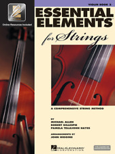 Essential Elements For Strings Violin Book 2 W/Online Access Brand New On Sale!