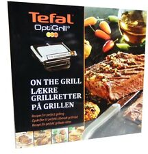 Tefal OptiGrill Buch Rezeptbuch Kochbuch Opti Grill Grillbuch Steaks Burger