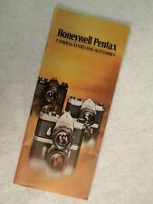 Honeywell Pentax Vintage 1975 Camera, Lens & Accessories Guide & Catalog