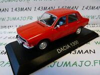 BAL13H Voiture 1/43 IXO DEAGOSTINI Balkans : DACIA 1300 Renault 12 rouge
