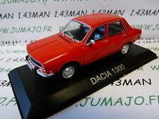 Voiture 1/43 IXO DEAGOSTINI Balkans : DACIA 1300 Renault 12 rouge