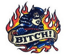 Artist Vince Ray Bitch Punk Embroidered Iron on Biker Patch