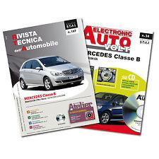 1Manuale tecnico riparazione/manutenzione+1Manuale DiagnosiAuto Mercedes ClasseB