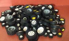 Lego Technik Räder 20 Stück / 10 Paar komplet mit Reifen gemischt alle Größen