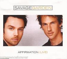 SAVAGE GARDEN - Affirmation (Live) (UK 3 Tk CD Single Pt 2)