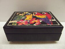 Vintage Reuge Music Jewelry Dresser Box Gavotte Bach