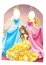 Disney Princesses Stand In Large Cardboard Cutout Cinderella Belle Photo Prop