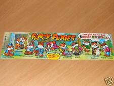 KINDER FANCY FUXIES BPZ GERMANY DEUTSCHLAND (D)