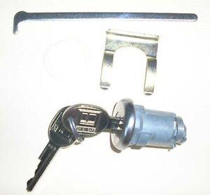 1968-1972 Chevy Nova Trunk Lock Cylinder Assembly With Keys  NEW