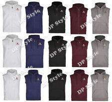 New Mens Premium Quality Sleevless Gillet Hoody Sweatshirt Sweater Jacket