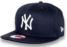 Chapeaux bleus New Era pour homme en 100% coton