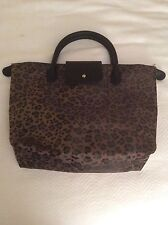 CHICO'S Black Leopard Animal Print Tote Bag Purse Retail $35 NWT NEW
