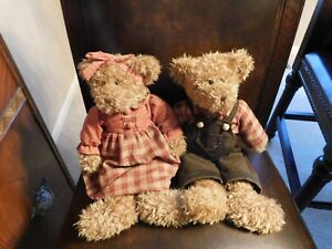 Serina and Fitzsimmons Russ for AVON Bears Vintage by look unused