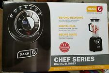 DASH CHEF SERIES DIGITAL BLENDER  1400W, 2.2 HORSE POWER COMMERCIAL PERFORMANCE.