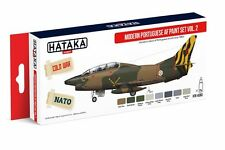 Hataka HTK-AS60 Modern Portuguese Air Force 1980s Vol.2 Paint Set (8 Colors)