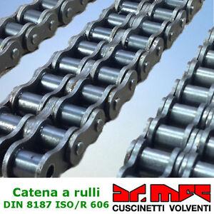 Falsa maglia per catena a rulli doppia DIN 8187 ISO/R 606