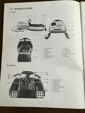 New Listing1976 Yamaha Srx Snowmobile Vintage Owner'S Service Manual