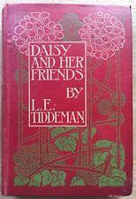 Scottish Arts & Crafts DAISY AND HER FRIENDS Silver Studio Blackie L E TIDDEMAN