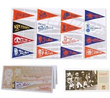 New York Mets Authentic Mini Pennant Collection Set M&N Mitchell & Ness L@@K